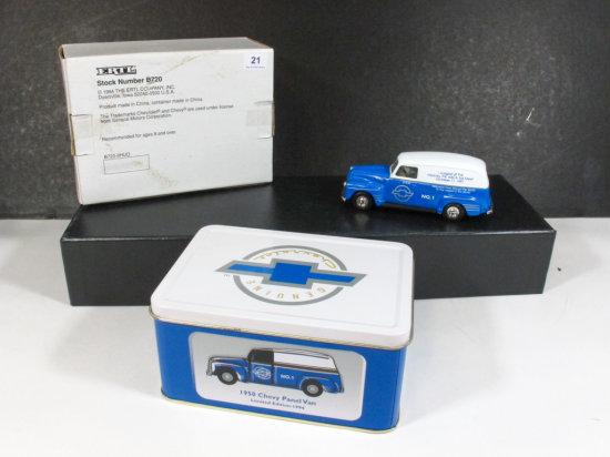 Ertl 1997 Hershey AACA Fall Meet 1950 Chevrolet Panel Van in Commemorative Tin