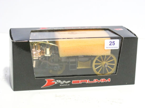 Brumm 1/43 scale X01 Carro di Cugnot diecast fire wagon, new in box
