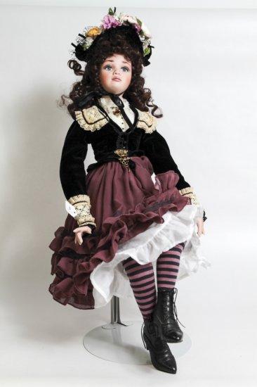 Jan McLean 21-inch Porcelain Doll Maggie Mae (2000)