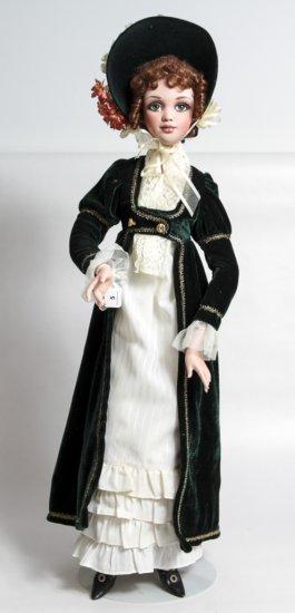 Jan McLean Sense and Sensibility 26-inch Porcelain Doll Elinor (1999)