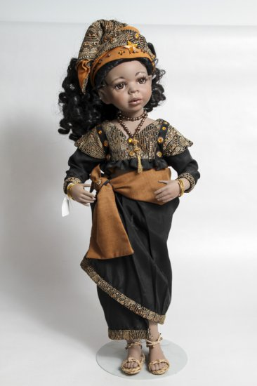 21-inch Nurnberger Puppenstube Limited Edition African Doll