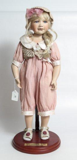 "22-inch Porcelain Doll by Berdine Creedy ""Nadia"""
