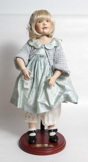 "22-inch Porcelain Doll by Berdine Creedy ""Rika"""