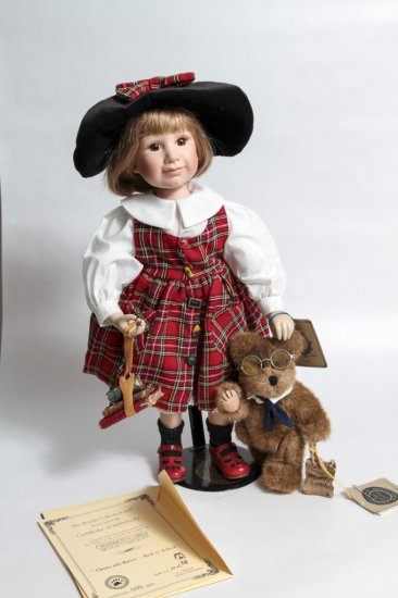 Yesterday's Child Boyd's Collection Doll Christa in Original Box