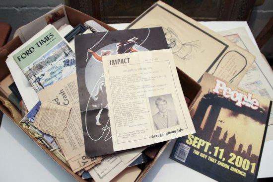Large lot of assorted paper ephemera