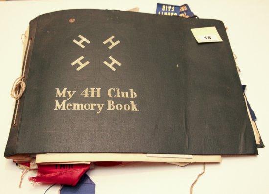 Vintage My 4-H Club Memory Book