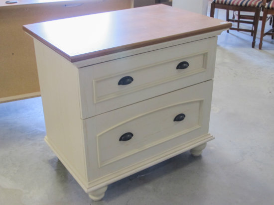 """33"""" wide two drawer file cabinet"""