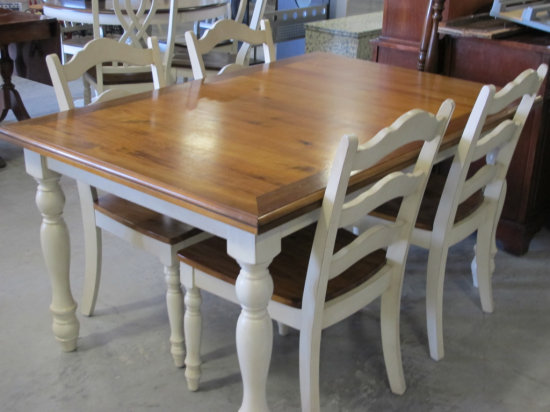 """60"""" x 40"""" French Country style table"""