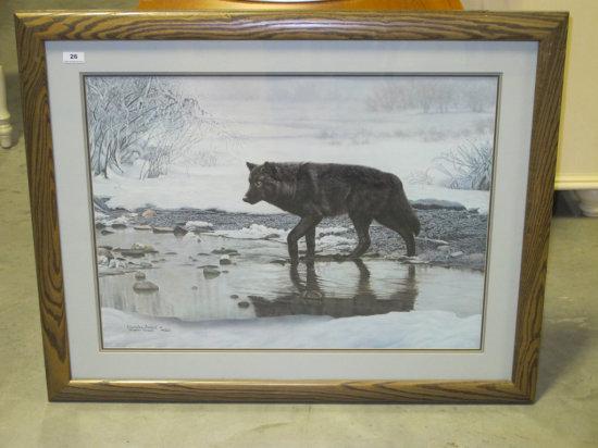 """31""""x38"""" framed size Charles Frace print"""