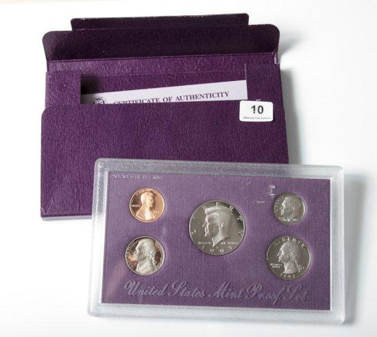1993 U.S. Proof set in original mint packaging