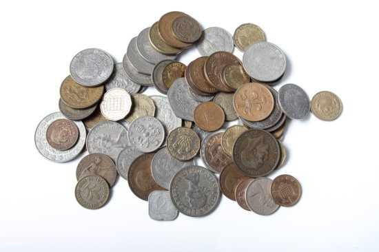 Lot: 70 mixed foreign coins