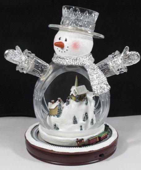 """Thomas Kinkade """"White Christmas"""" Snowman"""