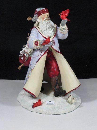"Lenox ""A Christmas Traveler"" Santa"