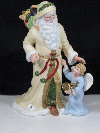 """Lenox """"Bavarian Santa"""" Figurine"""