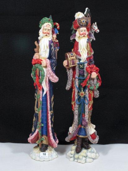 """Pair of 14"""" Lenox Resin Figurines"""