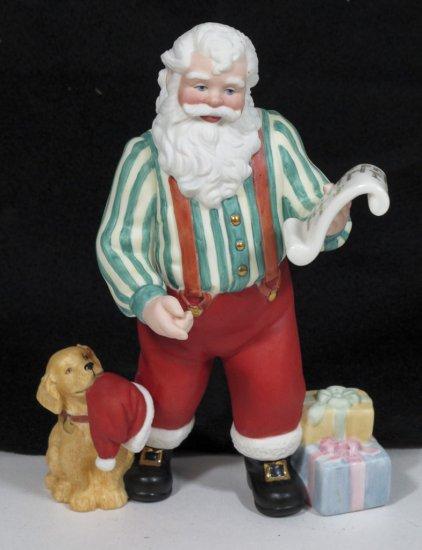 """Lenox """"Santa's Flight Plan"""" Figurine"""