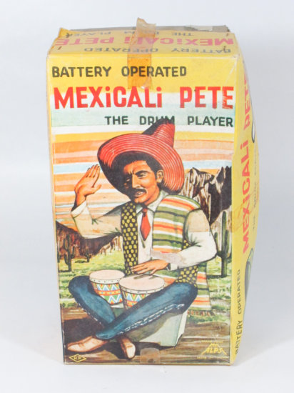 Japan Battery Operated Mexicali Pete Toy