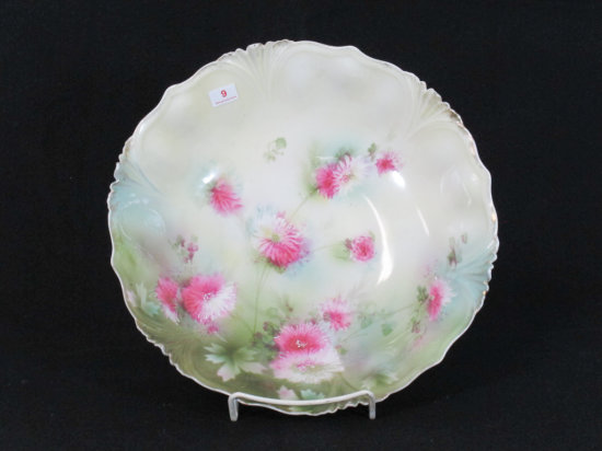 """10"""" Hand Painted RS Prussia Bowl"""