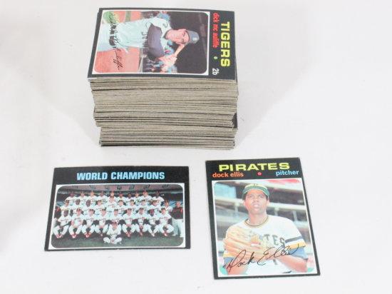 Topps 1971 Partial Set Baseball, 1-159