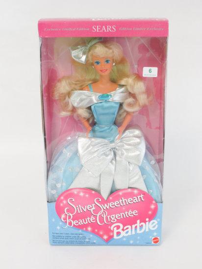 Silver Sweetheart Barbie, new in box