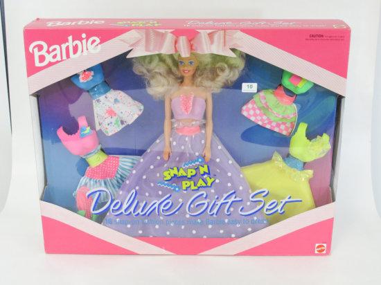 Barbie Snap'N Play Deluxe gift set