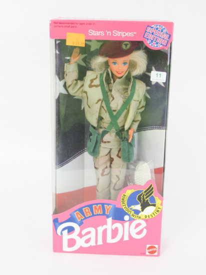 Army Barbie, new in box