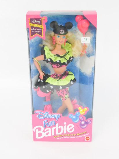 Disney Fun Barbie, new in box