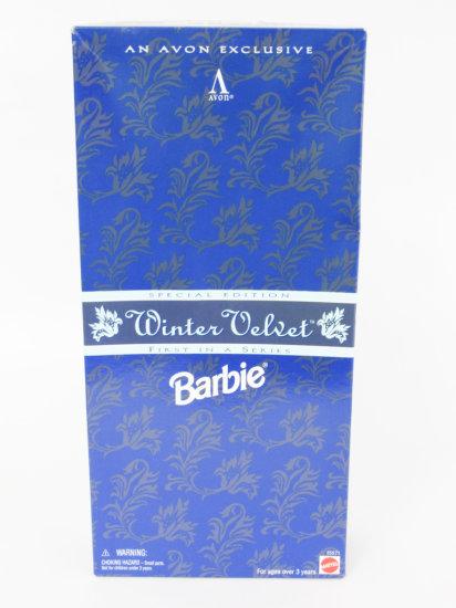 Winter Velvet Barbie, new in box