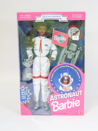 Astronaut Barbie, new in box