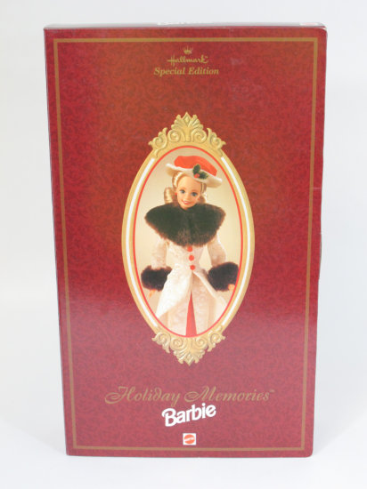 Holiday Memories Barbie, new in box