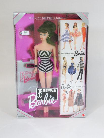 35th Anniversary Barbie, new in box