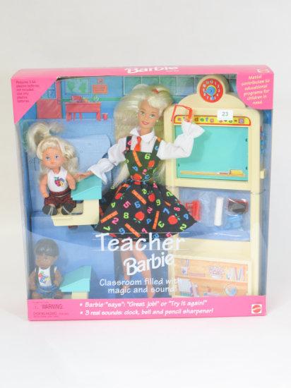 Teacher Barbie, new in box