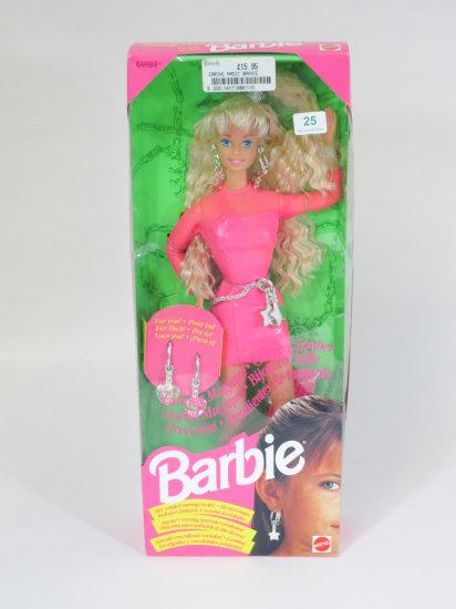 Earring Magic Barbie, new in box