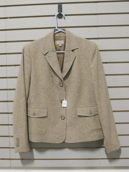 LL Bean Women's Wool/Nylon/Silk Blazer