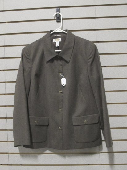 Talbots Women's Jacket w/ Eye and Toggle Buttons