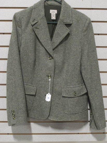 LL Bean Women's Wool/Nylon/Silk Jacket