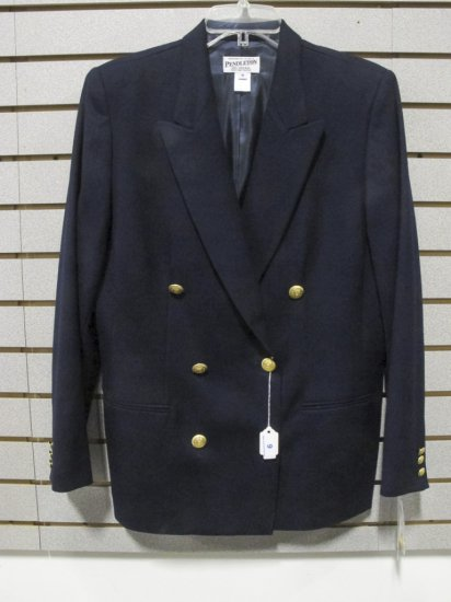 Pendleton Women's Navy Wool Blazer