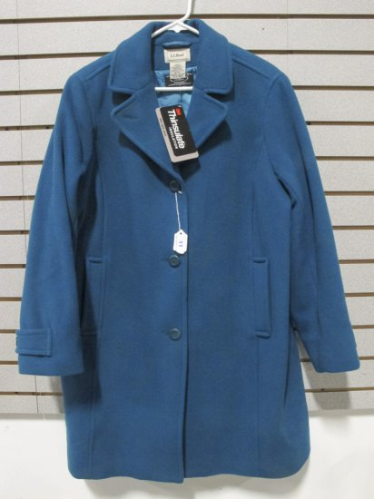 LL Bean, Bellandi, Women's Wool 3/4 Length Coat
