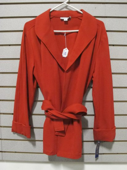 Pendleton Women's Modal,Wool, Nylon and Spandex Belted Jacket
