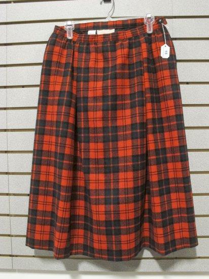 Pendleton Women's Wool Plaid Lined Skirt