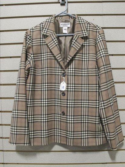 Pendleton Women's Virgin Wool Plaid Jacket
