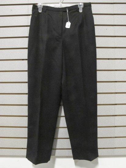 Pendleton Women's Virgin Wool Black Lined Slacks