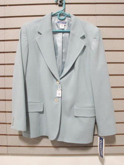 Pendleton Women's Virgin Wool Light Aqua Blazer, New w/ Tags
