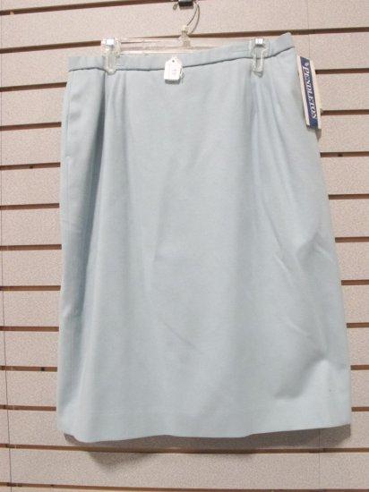 Pendleton Women's Virgin Wool Light Aqua Skirt, New w/ Tags