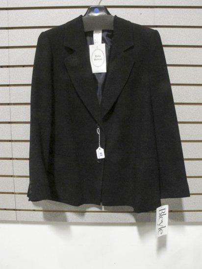 Bleyle Women's Black Polyester Blazer, New w/ Tags