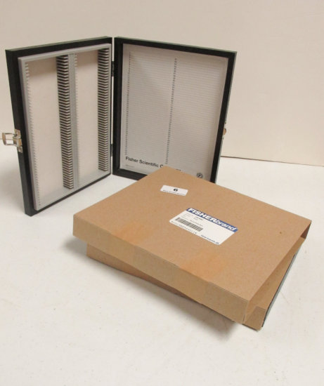 2 100 Capacity Wooden Slide Boxes