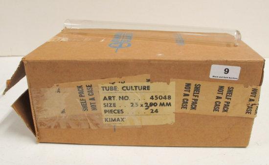 24 Culture Tubes 25 x 300mm