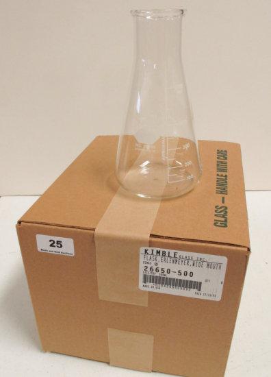 6 500ml Erlenmeyer Flasks