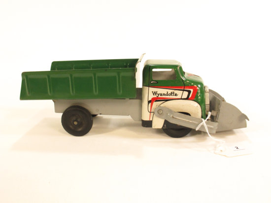 Wyandotte Pressed Steel Front Load Truck
