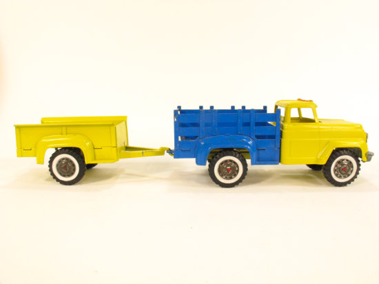 Hubley Steel Stake Truck with Trailer